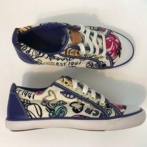 Coach Poppy Love Barrett Sneakers Womens Size 6.5